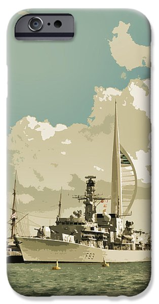 Portsmouth IPhone Case by Sharon Lisa Clarke