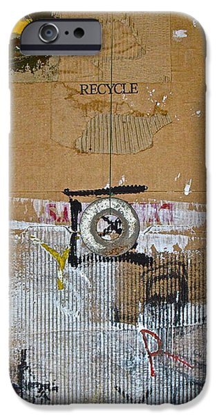 Recycle  IPhone Case by Cliff Spohn