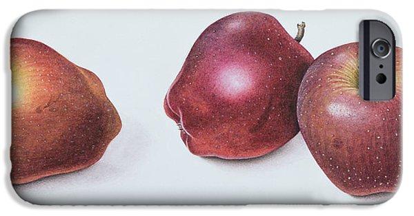 Red Apples IPhone 6s Case by Margaret Ann Eden