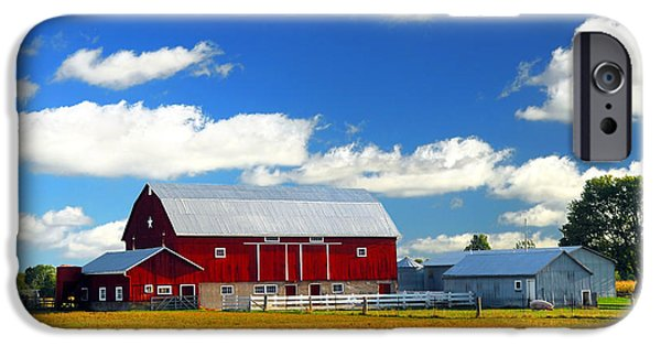 Red Barn IPhone Case by Elena Elisseeva