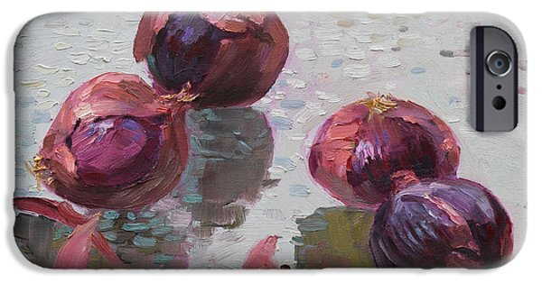 Red Onions IPhone 6s Case by Ylli Haruni