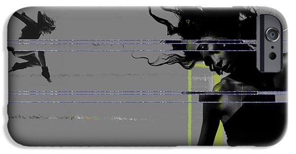 Shuttered Glass IPhone Case by Naxart Studio