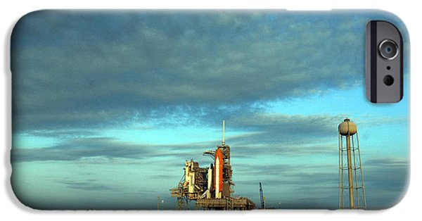 Space Shuttle Endeavor On Launch Pad IPhone Case by Nasa