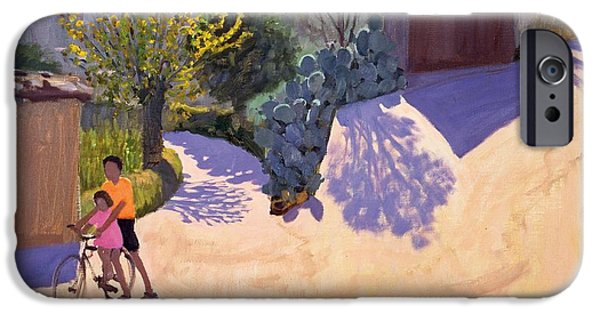 Spring In Cyprus IPhone Case by Andrew Macara