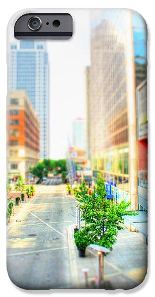 Street's Of Louisville IPhone Case by Darren Fisher