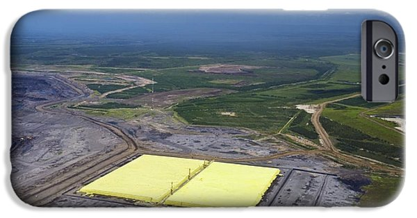 Sulphur Extracted From Oil, Canada IPhone Case by David Nunuk
