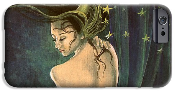 Taurus From Zodiac Series IPhone Case by Dorina  Costras