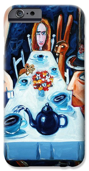 Tea By Night IPhone Case by Leanne Wilkes