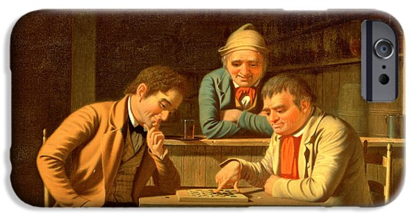 The Checker Players IPhone Case by George Caleb Bingham