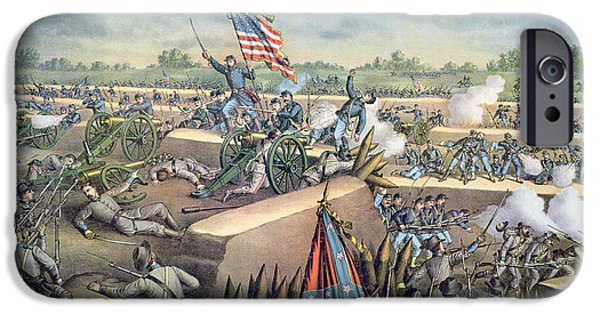 The Fall Of Petersburg To The Union Army 2nd April 1965 IPhone Case by American School