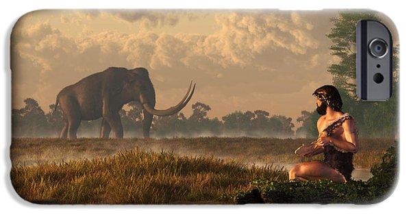 The First American Wildlife Artist IPhone Case by Daniel Eskridge