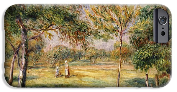 The Glade IPhone Case by Pierre Auguste Renoir