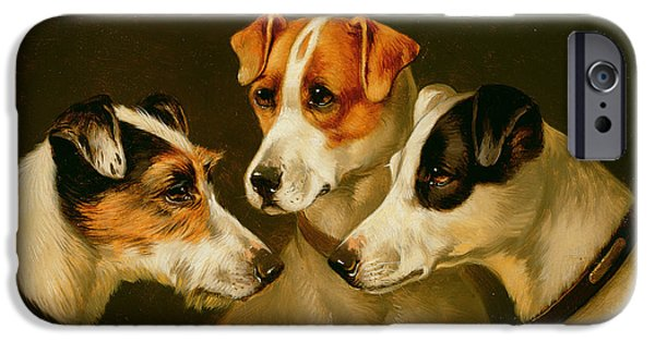 The Hounds IPhone Case by Alfred Wheeler