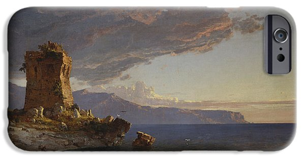 The Isle Of Capri IPhone Case by Jasper Francis Cropsey