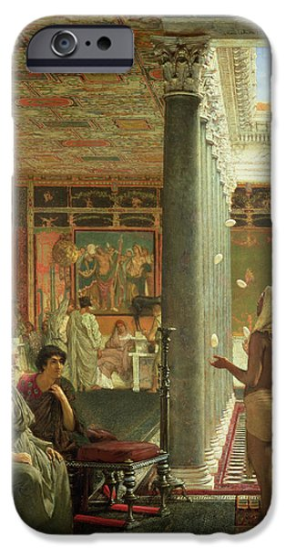 The Juggler IPhone Case by Sir Lawrence Alma-Tadema