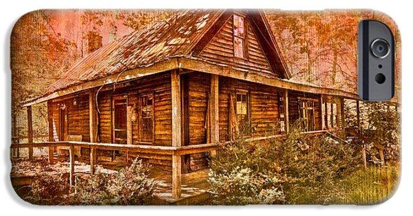 The Old Homestead IPhone Case by Debra and Dave Vanderlaan