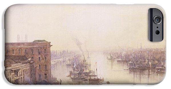 The Pool From The Adelaide Hotel London Bridge IPhone Case by William Wyld