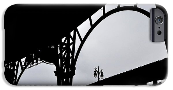 Tiger Stadium Silhouette IPhone Case by Michelle Calkins