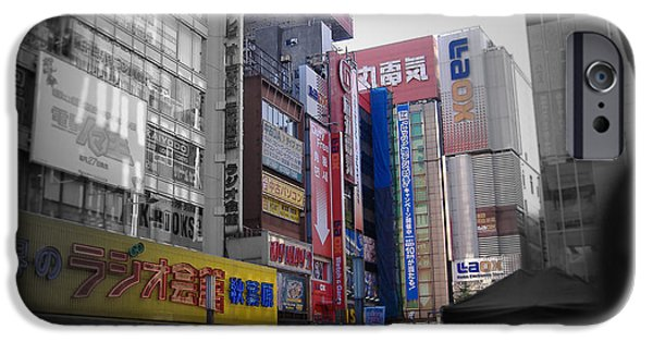 Tokyo Pick Hour IPhone Case by Naxart Studio
