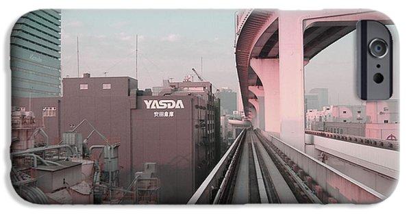 Tokyo Train Ride 5 IPhone Case by Naxart Studio