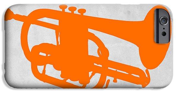 Tuba  IPhone Case by Naxart Studio