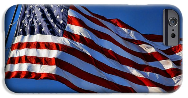 United States Of America - Usa Flag IPhone Case by Gordon Dean II