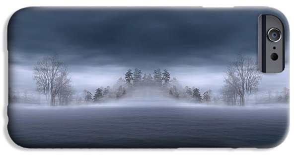 Veil Of Mist IPhone Case by Lourry Legarde