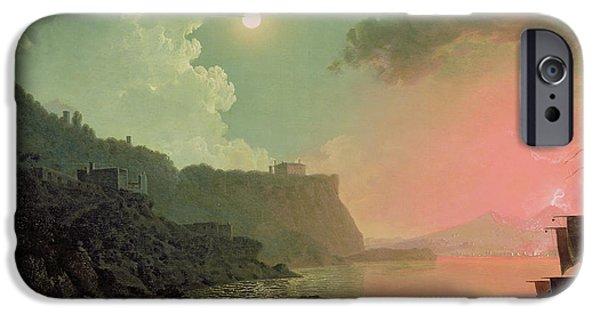 Vesuvius From Posillipo IPhone Case by Joseph Wright of Derby