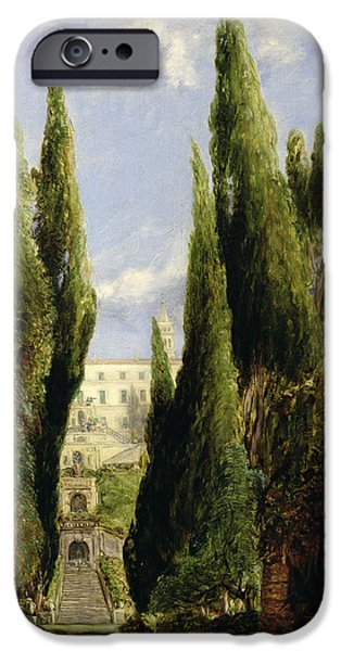 Villa D'este Tivoli IPhone Case by William Collins