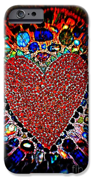 You Are In My Heart My Valentine IPhone Case by Susanne Van Hulst