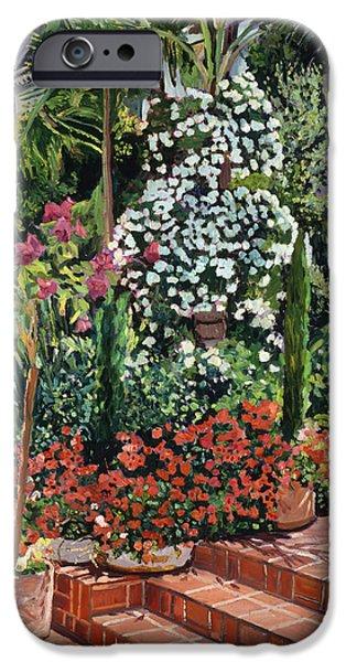 A Garden Approach IPhone 6s Case by David Lloyd Glover