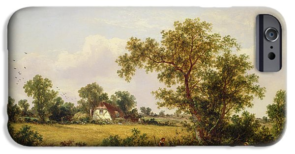 Essex Landscape  IPhone Case by James Edwin Meadows