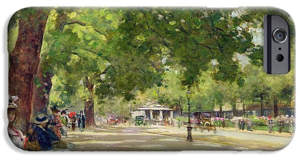 Hyde Park - London IPhone 6s Case by Count Girolamo Pieri Nerli