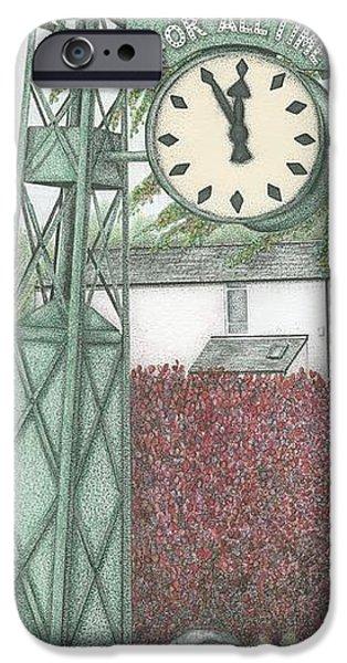 Leyland Motors Clock Kendal Cumbria IPhone Case by Sandra Moore