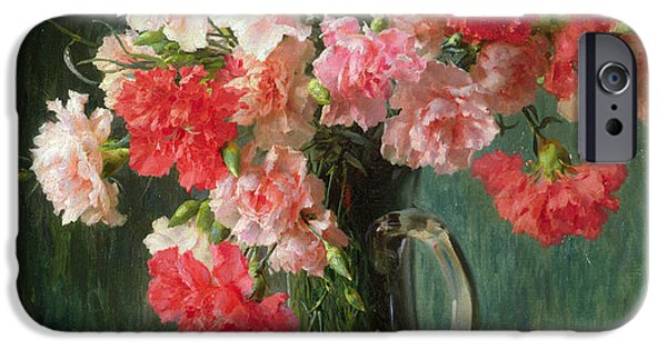 Still Life Of Carnations   IPhone 6s Case by Emile Vernon