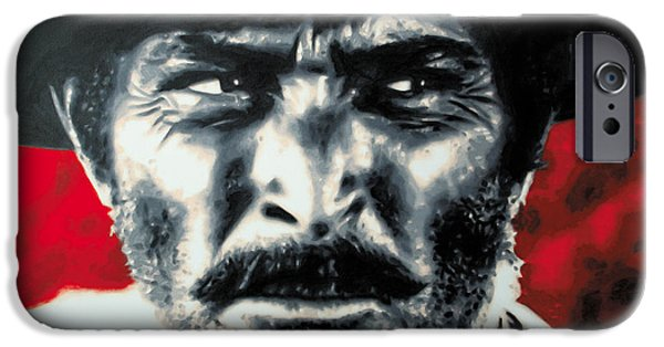 - The Good The Bad And The Ugly - IPhone Case by Luis Ludzska