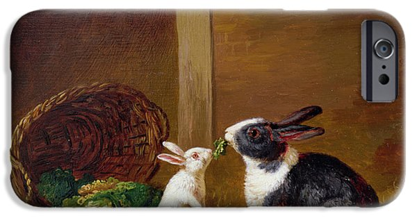 Two Rabbits IPhone 6s Case by H Baert