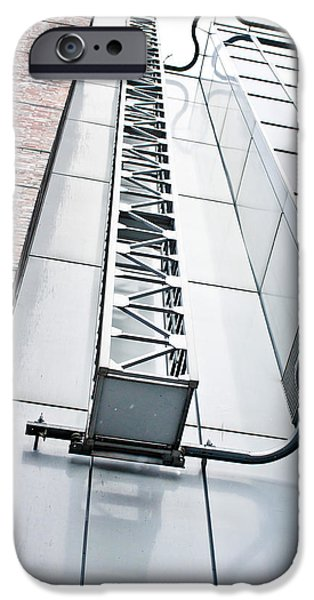 Access Ladder IPhone Case by Tom Gowanlock