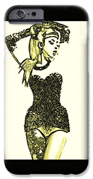 All That Glitters IPhone Case by Micael Pace