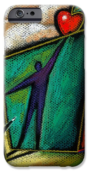 Ambition IPhone Case by Leon Zernitsky