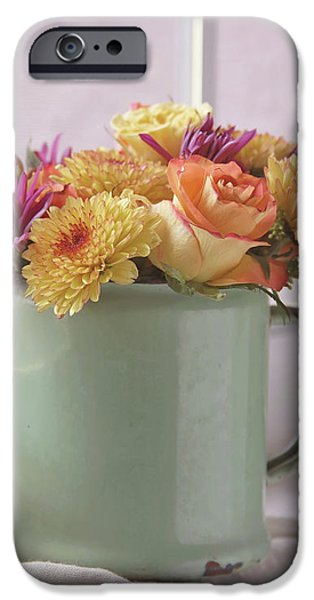 Autumn Bouquet -2 IPhone Case by Kim Hojnacki
