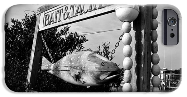 Bait And Tackle IPhone Case by David Lee Thompson