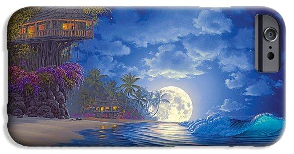 Banyan Moon IPhone Case by Al Hogue