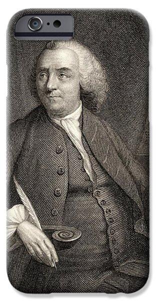 Benjamin Franklin, 1706-1790. American IPhone Case by Vintage Design Pics