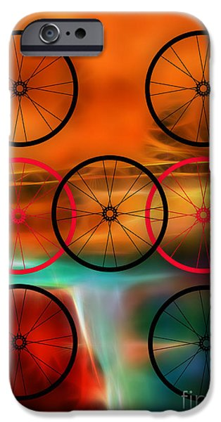 Bicycle Wheel Collection IPhone 6s Case by Marvin Blaine
