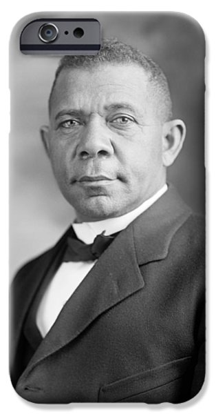 Booker T. Washington IPhone Case by War Is Hell Store