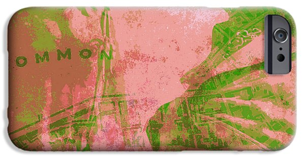 Boston Common IPhone Case by Brandi Fitzgerald