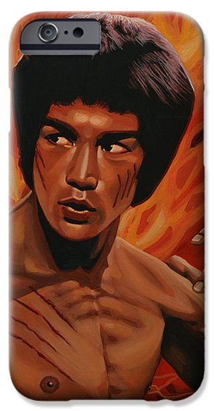 Bruce Lee Enter The Dragon IPhone Case by Paul Meijering