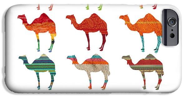 Camels IPhone 6s Case by Art Spectrum
