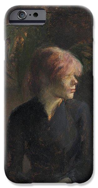 Carmen Gaudin IPhone Case by Henri de Toulouse-Lautrec